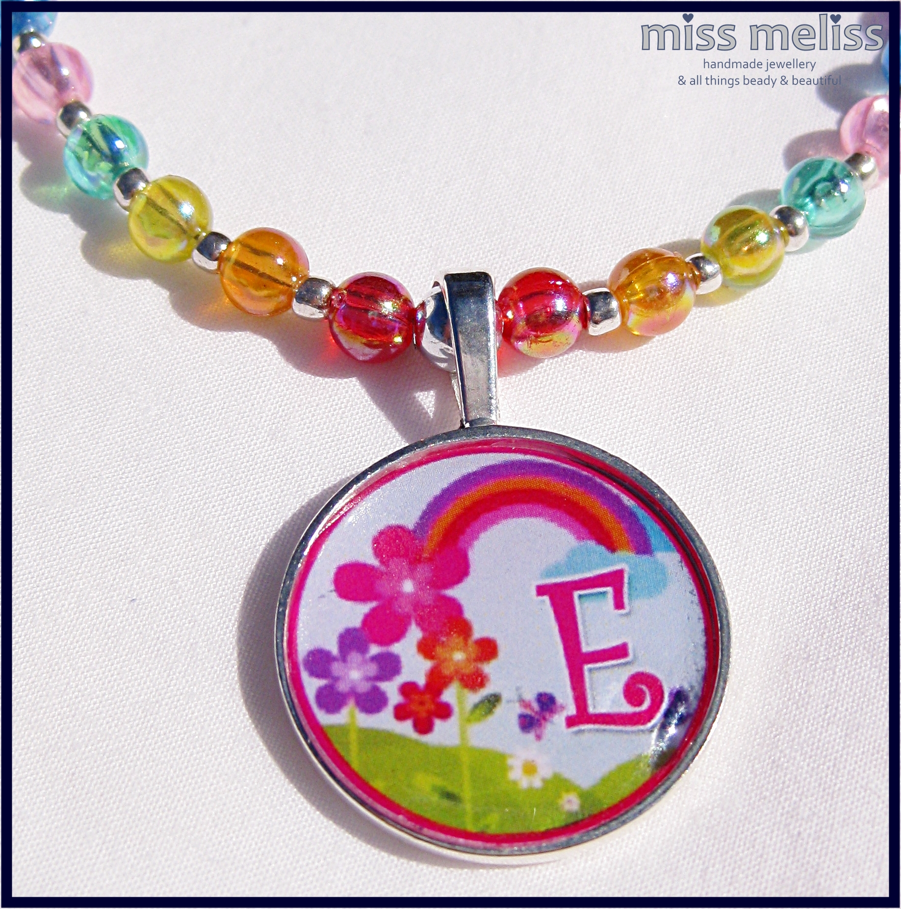 miss meliss & Sonni Lou Designs new release {The Rainbow Collection} Necklaces} $20 + P & H